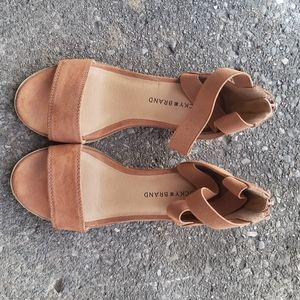 Lucky brand sandal for kids Size 13M stacked heel